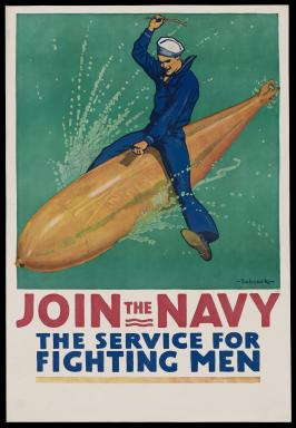 Join the Navy: The Service for Fighting Men. Source: www.bostonglobe.com